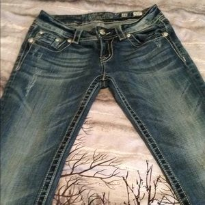 Miss me jeans boot cute size 28